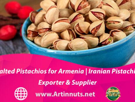 Salted Pistachios for Armenia   Iranian Pistachio Exporter & Supplier