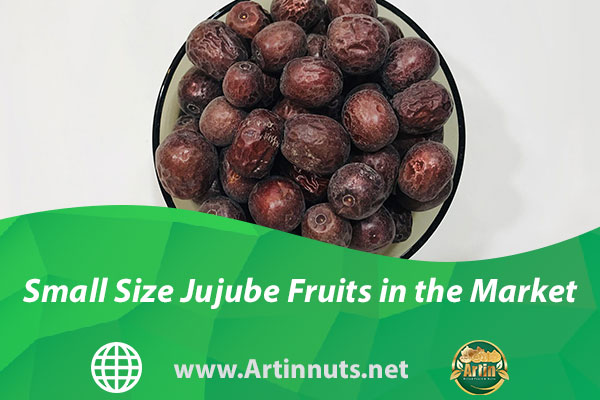 Small Size Jujube Fruits in the Market