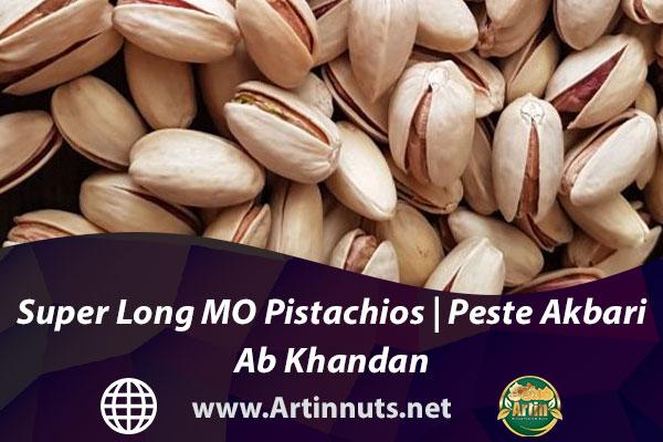 Super Long MO Pistachios   Peste Akbari Ab Khandan