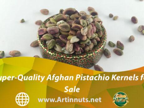 Super-Quality Afghan Pistachio Kernels for Sale