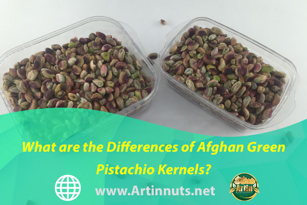 What are the Differences of Afghan Green Pistachio Kernels?