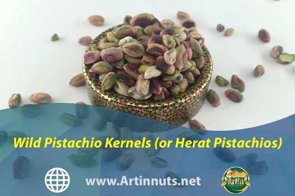 Wild Pistachio Kernels (or Herat Pistachios)